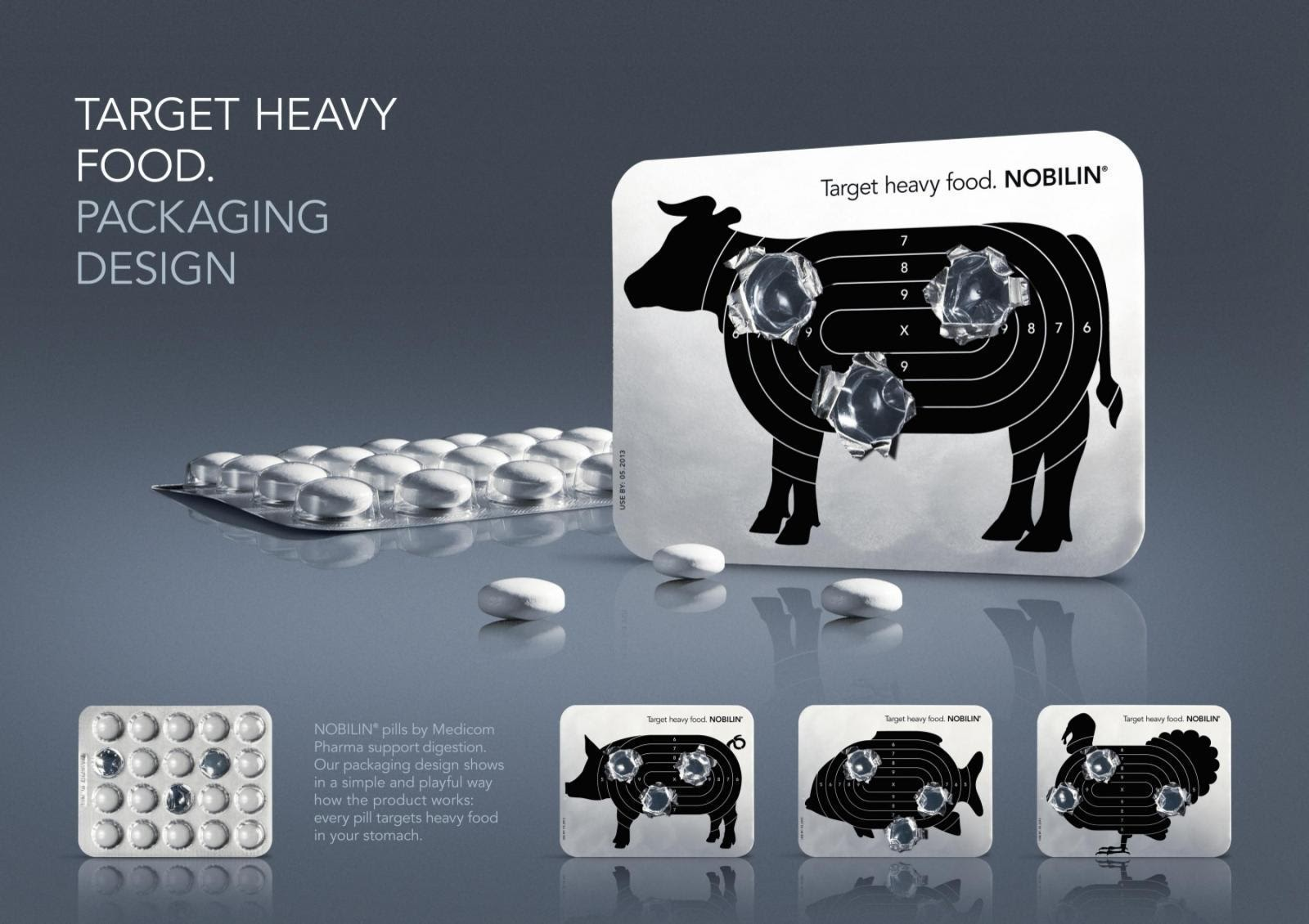 Noblin packaging